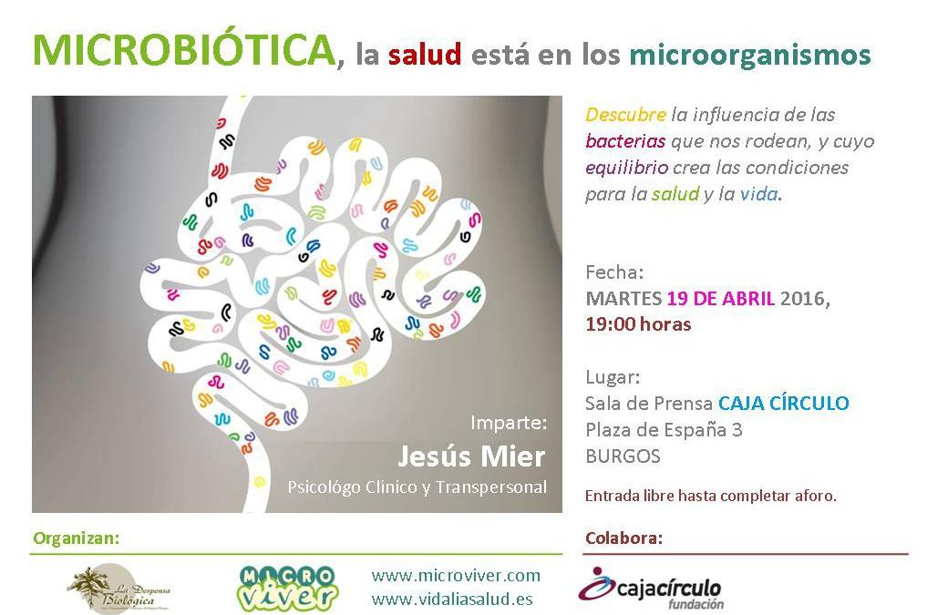 MICROBIÓTICA, la salud está en los microorganismos